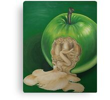 From the Apple & Eve Series, Green Apple: A new awareness  Canvas Print