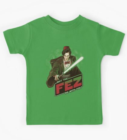 May the Fez be With You Kids Tee