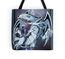 Dragon with Blue-Eyes Tote Bag