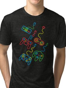 Old School Tri-blend T-Shirt