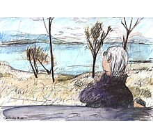 Jean at Callide Dam Photographic Print