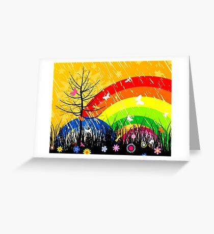 Wood3 Greeting Card