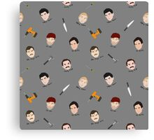 Serial Killers Canvas Print