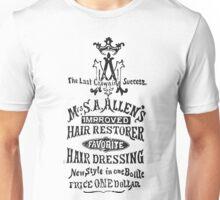 Old Ads - Mrs S. A. Allen's Improved Hair Restorer Unisex T-Shirt