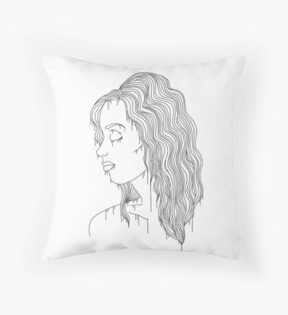 d r i p Throw Pillow
