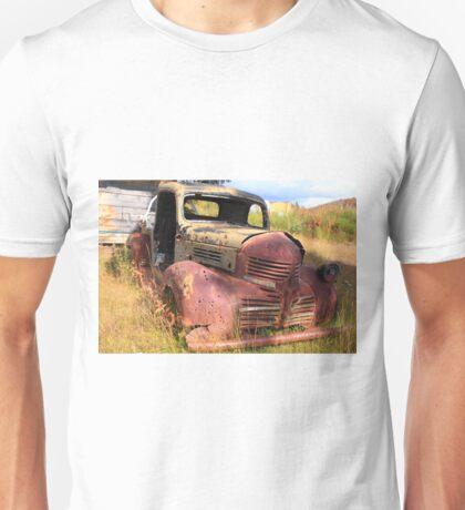 Rusty and old Unisex T-Shirt