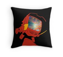 Psychedelic Canti Throw Pillow