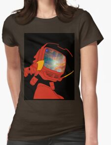 Psychedelic Canti Womens Fitted T-Shirt