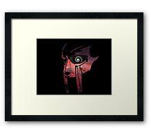 Beneath the Mask Framed Print