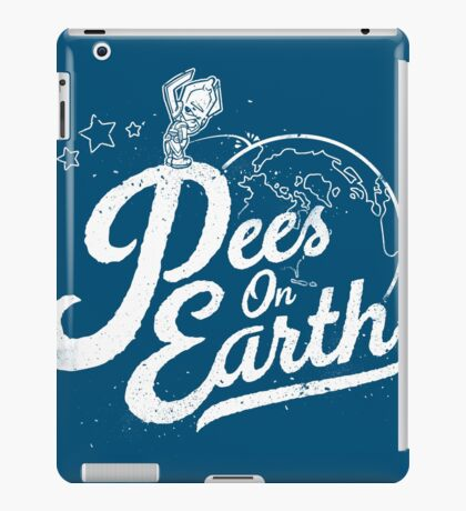 Pees (Peace) On Earth iPad Case/Skin