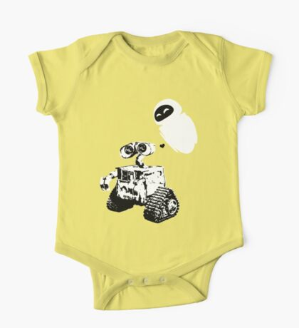 Wall e One Piece - Short Sleeve