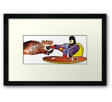 The Real Space Ghost Framed Print