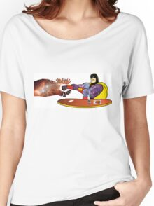 The Real Space Ghost Women's Relaxed Fit T-Shirt