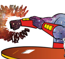 The Real Space Ghost Sticker