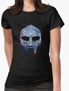 Space DOOM Womens Fitted T-Shirt