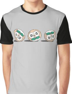 Rowlet Roll Graphic T-Shirt