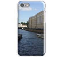 Canals of St. Petersburg iPhone Case/Skin