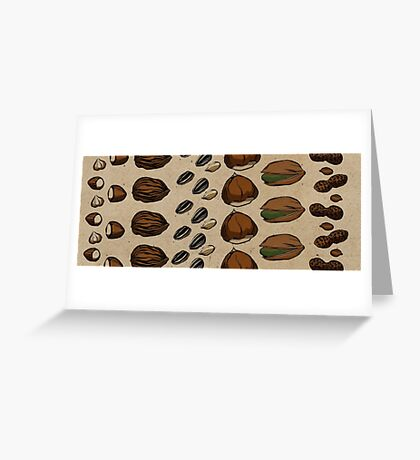 Nuts about Nuts Greeting Card