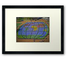 A World Of Flowers Framed Print
