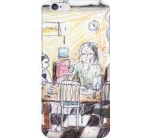 With Victor at the Foodstore Café, Hobart iPhone Case/Skin
