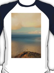 Clouds Viewing in the Ocean - Travel Photography T-Shirt