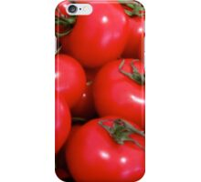 JUICY RED TOMATOES iPhone Case/Skin