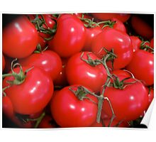 JUICY RED TOMATOES Poster