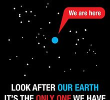 Look After Our Earth by 3wisedonks