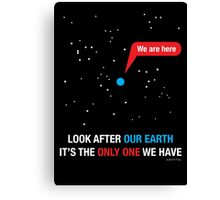 Look After Our Earth Canvas Print