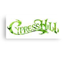 Cypress Hill weed leaf Canvas Print