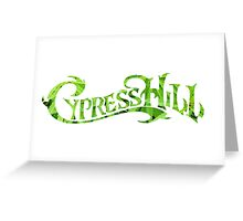 Cypress Hill weed leaf Greeting Card