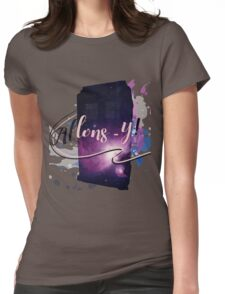 Tardis' Allons-y! Womens Fitted T-Shirt
