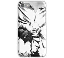 Spring Daffodil - Ink drawing iPhone Case/Skin