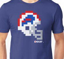 BUF White Helmet - Tecmo Bowl Shirt Unisex T-Shirt