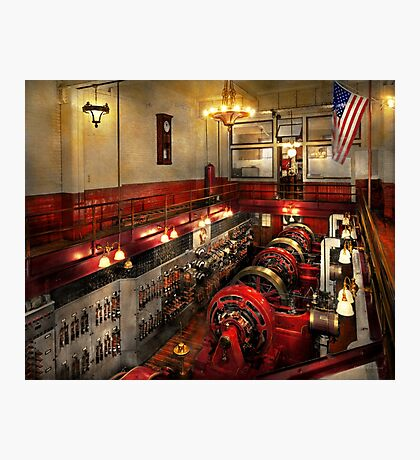 Steampunk - The Engine Room 1974 Photographic Print
