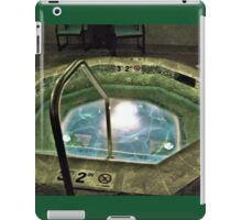 Whirlpool Hot Tub at the Hotel iPad Case/Skin