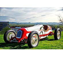 Vintage Indy Car Circa 1929 Photographic Print