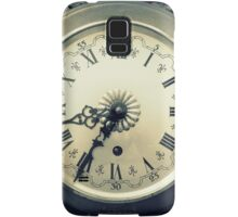 old wall clock Samsung Galaxy Case/Skin