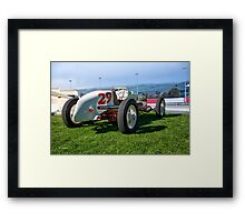 Vintage Indy Car Circa 1929 II Framed Print