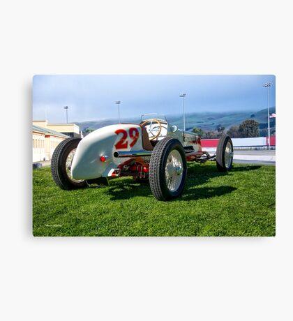 Vintage Indy Car Circa 1929 II Canvas Print