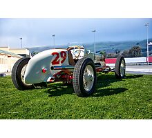 Vintage Indy Car Circa 1929 II Photographic Print