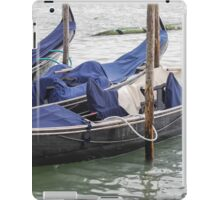 gondola in Venice iPad Case/Skin