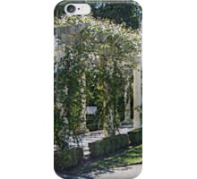 The Marble Pergola in the Gardens, Rosecliff Mansion iPhone Case/Skin
