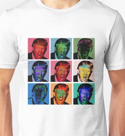 "Donald Trump Andy Warhol ""PostMo Trump"" Unisex T-Shirt"