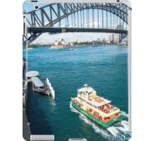 From the top of the Ferris wheel iPad Case/Skin