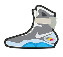 Back to the future 2 - Nike Mag Sneaker by whaleofatime