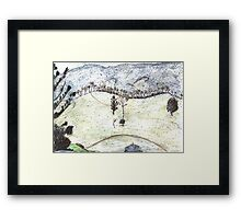 Tree Ridge Framed Print