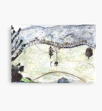 Tree Ridge Canvas Print