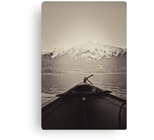 Paddle Away Canvas Print