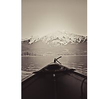 Paddle Away Photographic Print